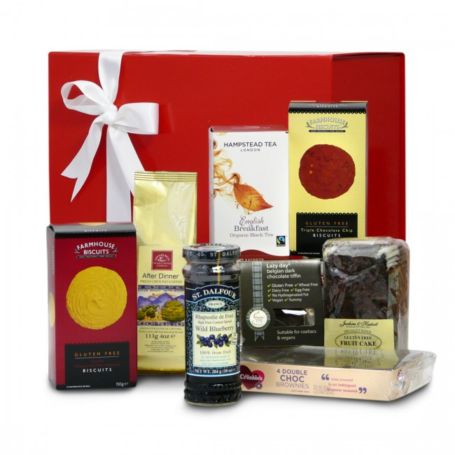 Gluten free afternoon tea gift pack gluten free hampers uk gluten free afternoon tea gift pack negle Image collections