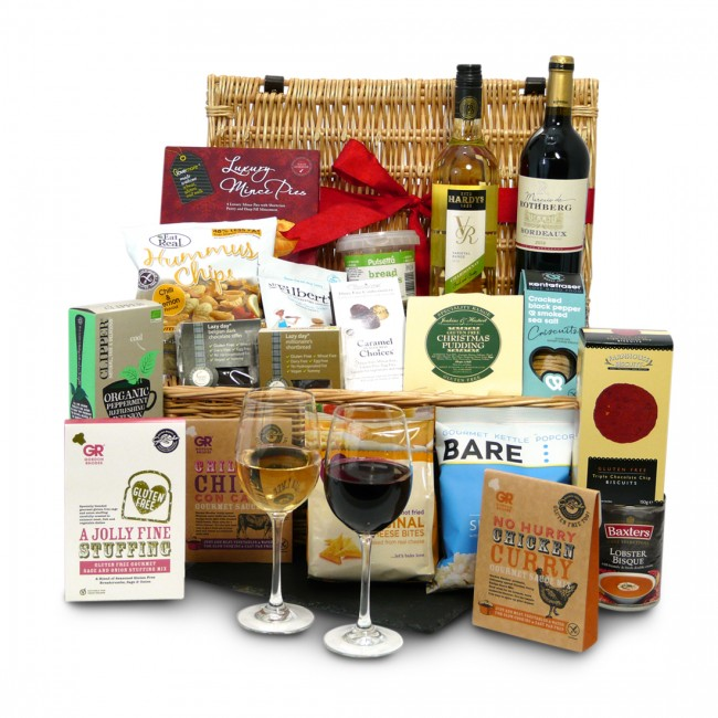 Gluten free food drink luxury gluten free christmas hamper negle Gallery
