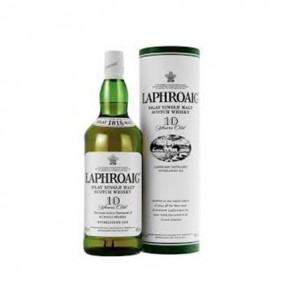 Laphroaig 10yr old single malt 700ml bottle