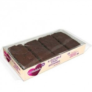 Mrs Crimbles Double Choc Brownies (4 pack) 190g