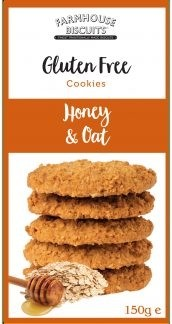 Gluten Free Honey & Oat Crunch 150g
