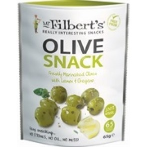 Mr Filberts Pitted Olives with Lemon & Oregano